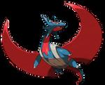 Mega Salamence (official design edited)