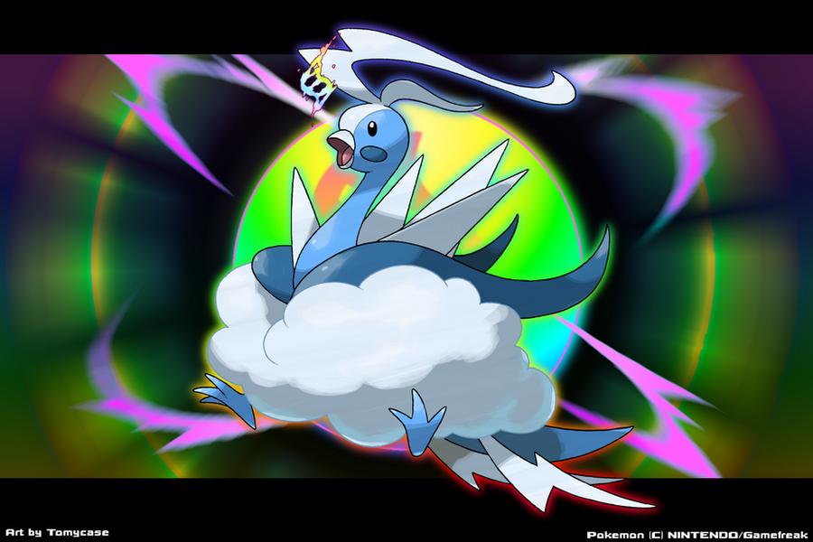 Mega Altaria (Dragon/Elec) by Tomycase