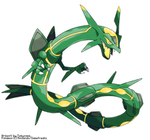 Primal Rayquaza by Tomycase