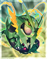 Mega Rayquaza by Tomycase