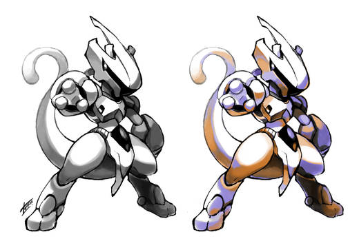 Armored Mewtwo