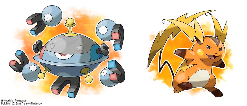 Mega magnezone mega raichu by tomycase on deviantart - Pokemon x raichu mega evolution ...