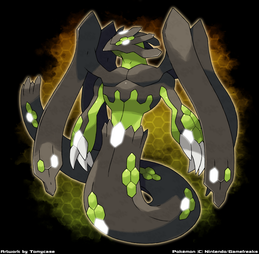 zygarde new form by tomycase on deviantart
