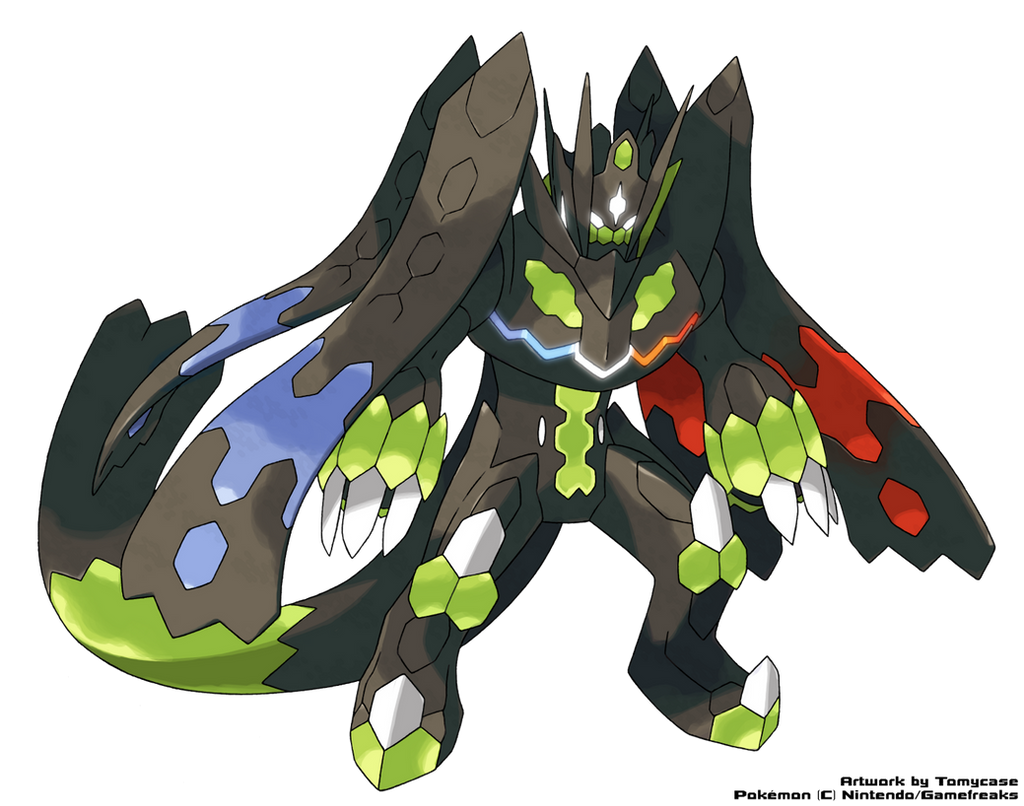 Perfect Zygarde by Tomycase on DeviantArt