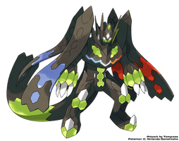 Perfect Zygarde by Tomycase