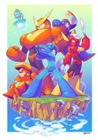 Megaman 2 by Tomycase