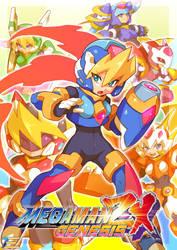 Megaman ZX Genesis - Update Art 2