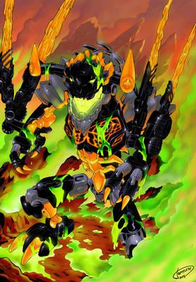 Bionicle 2016 Revamp Comics - Beast of Lava