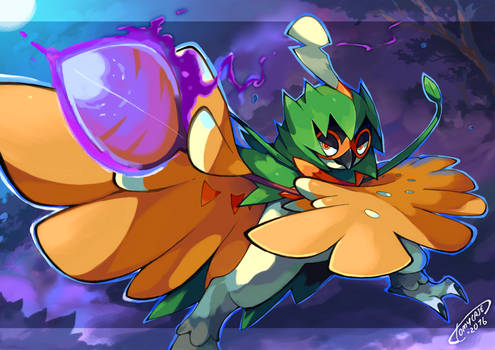 Decidueye, The Ghost Archer