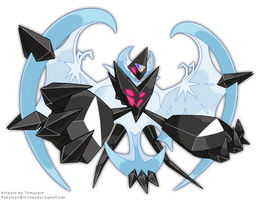 Necrozma Dawn Wings by Tomycase
