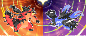 Necrozma Infection : Groudon and Kyogre