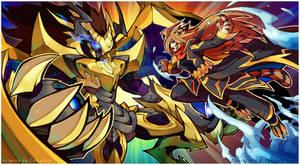 Commission : Gods Battle