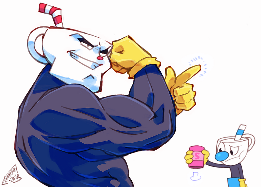 When you beat Cuphead on EXPERT by Tomycase