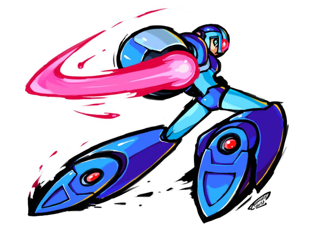 Draw MegaMan Day 2018 - Art2 : Megaman X by Tomycase