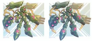 Giga War Armor X by Tomycase