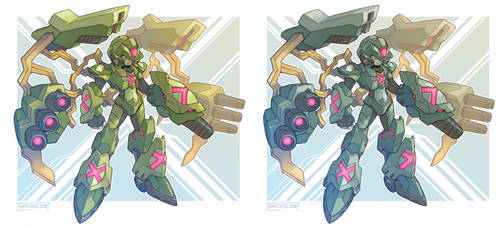 Giga War Armor X