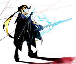 Thunder Blade - Luminous Avenger iX by Tomycase