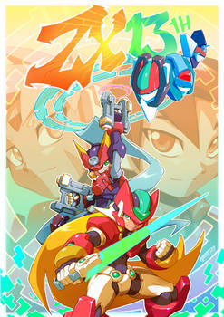 Megaman ZX 13th Anniversary