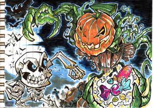 2019 - Sketch 8 : Spooky Time!