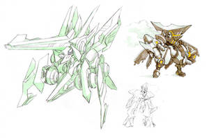 Mech sketches 2