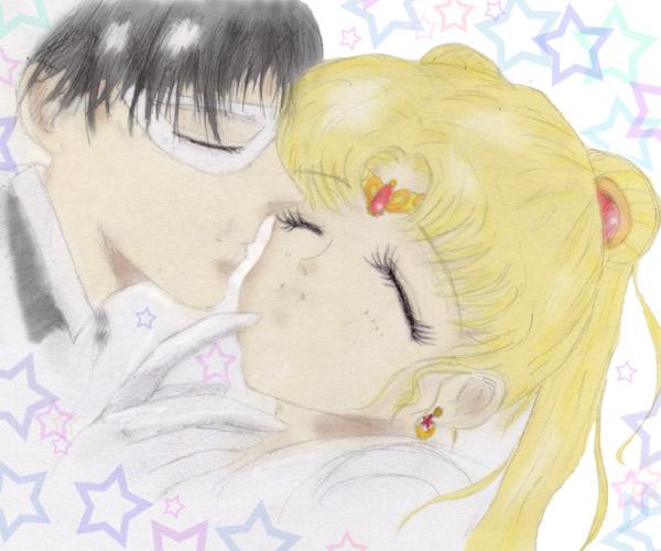 Sailor Moon X Tuxedo Mask: Tuxedo Mask+Sailor Moon Colour By Valynia On DeviantArt