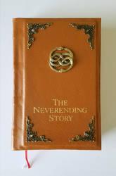 Neverending Story Bookbinding by Carlotta4th