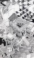 Escher Collage by Carlotta4th
