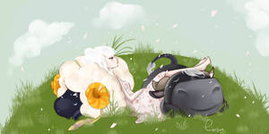 Sleeping with Vesta and Rodeo - ACNL