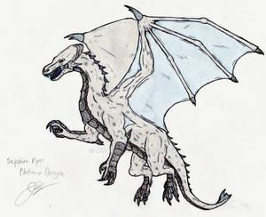 Sapphire-Eyes Platinum Dragon