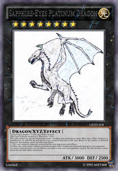 Sapphire-Eyes platinum dragon(card)