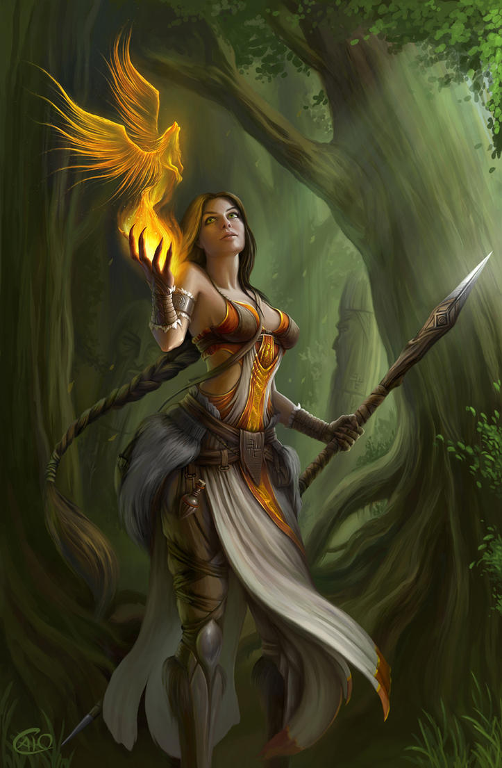 priestess by aneteya