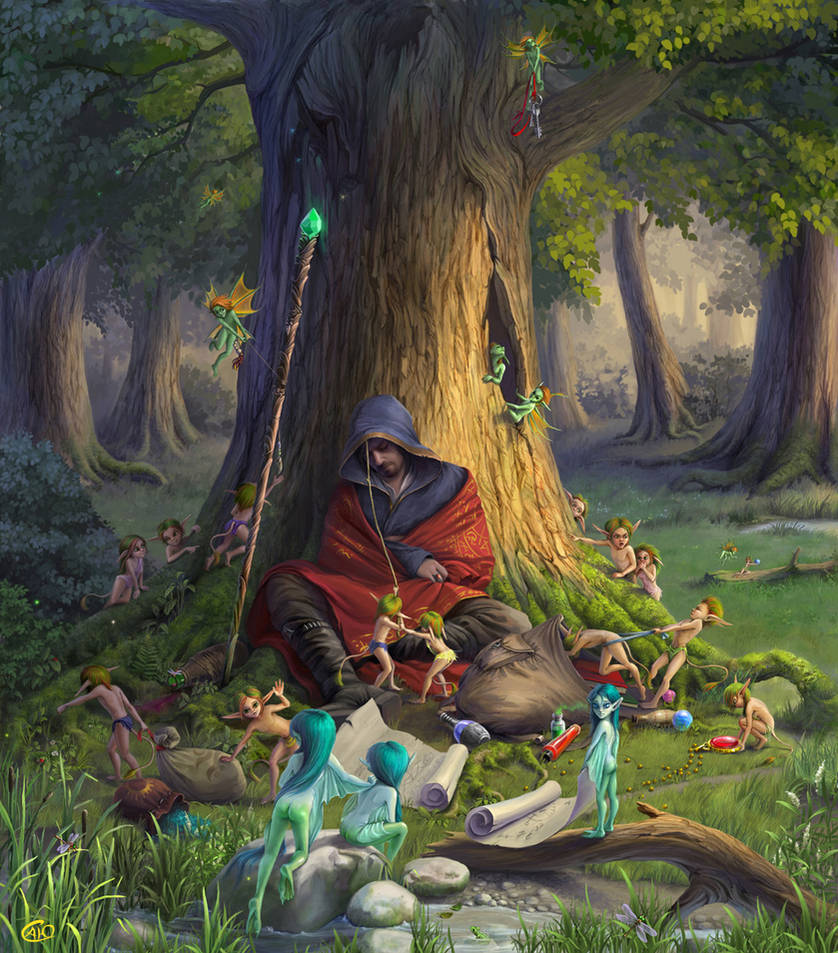 elves by aneteya