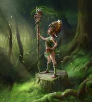 small shaman by aneteya