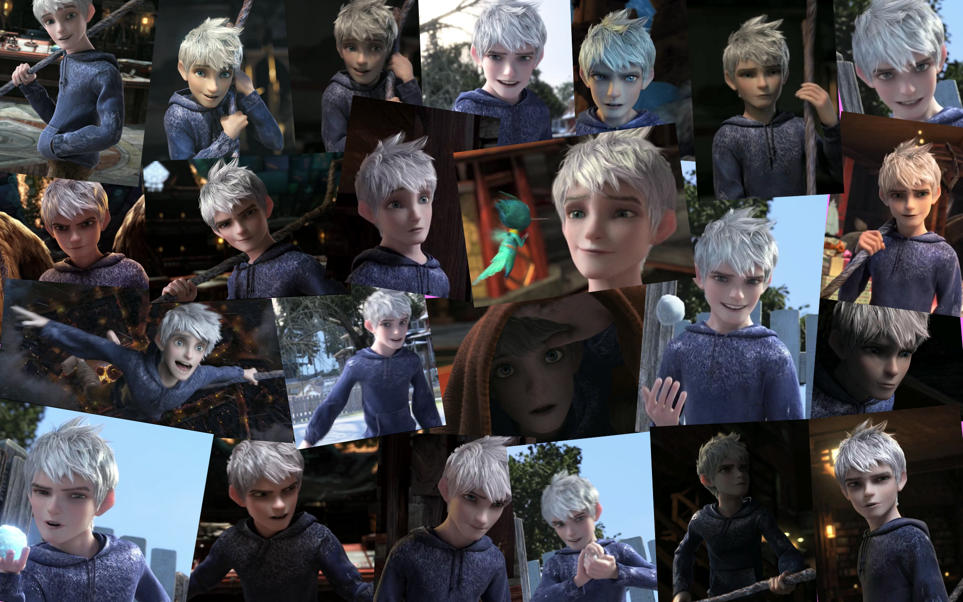 Jack Frost Collage by kaoru-reisaki