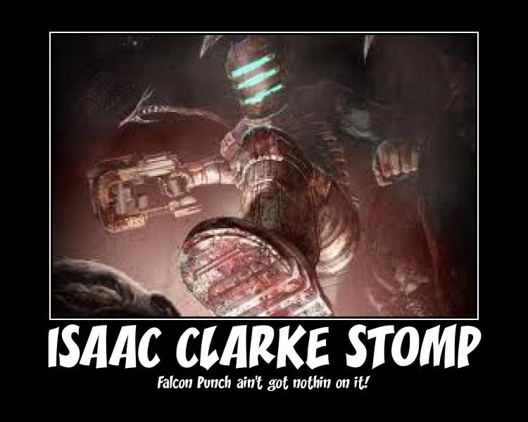 Isaac Clarke Stomp by Phoenixfire107