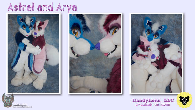 Astral and Arya Couples Shots!