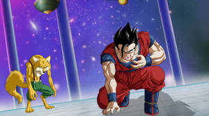 Gohan From Episode 80 - The effect of the poison