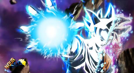 Goku Mastered Ultra Instinct by nourssj3
