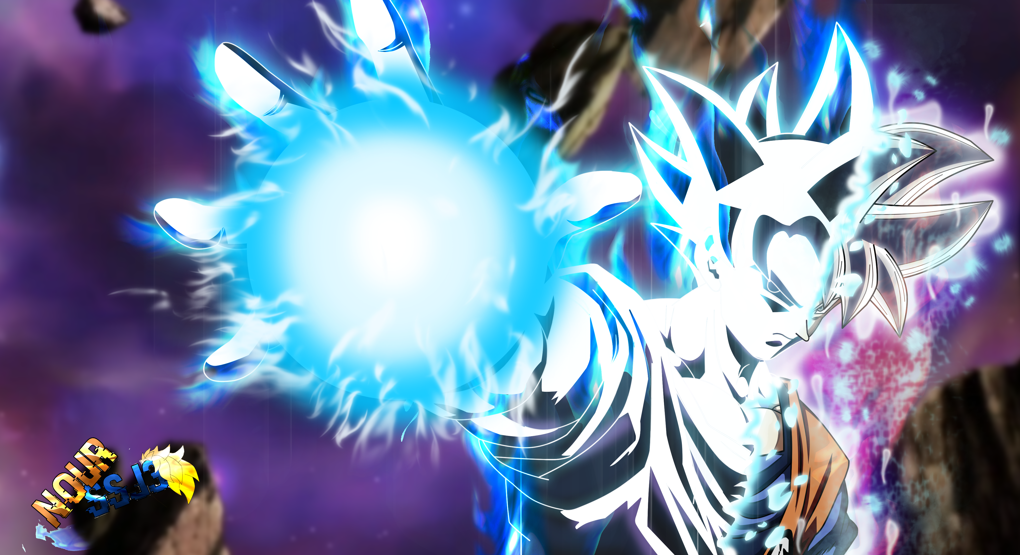 Goku Mastered Ultra Instinct By Nourssj3 On Deviantart