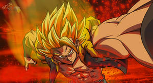 Gogeta Ssj Dragon Ball Super Broly by nourssj3