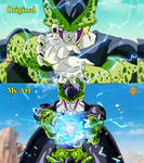 Perfect Cell Kamehameha - Compare