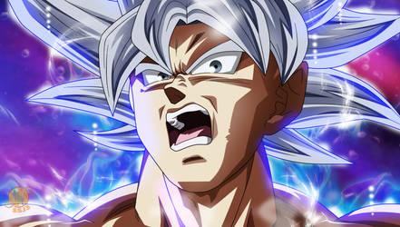 Goku Mastered Ultra Instinct - Naotoshi shida
