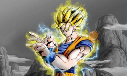 Goku SSj2 Full Power