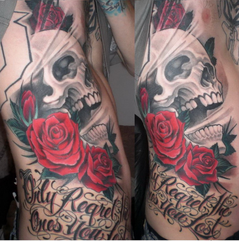 Memorial Tat Stage 2 Complete by ZERONeon