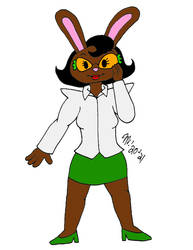 Buffy Bunny in Color