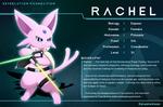 Rachel the espeon