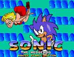 Sonic 1 October 1989 Title Screen Build Mockup