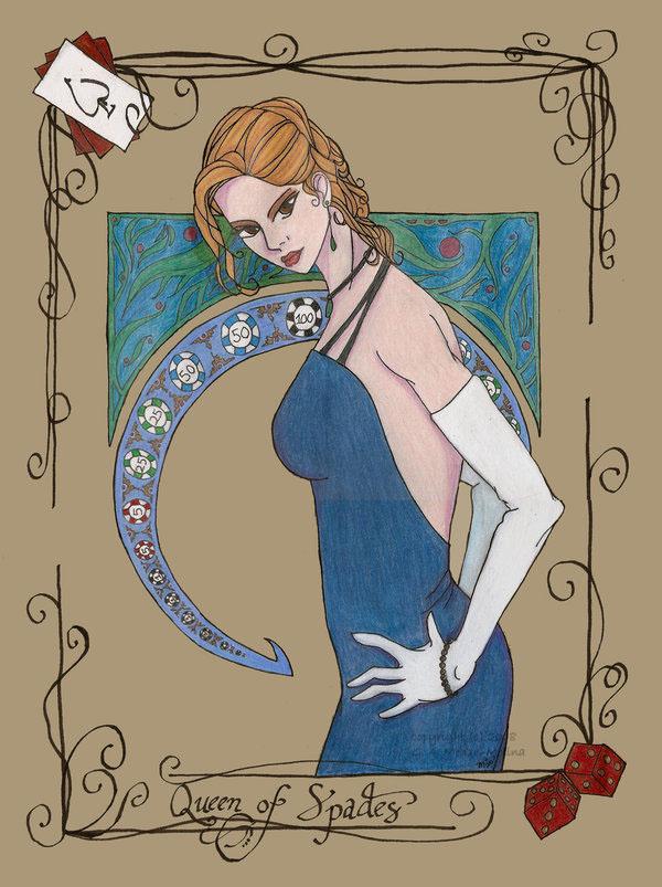 Queen of Spades - Final by destinare