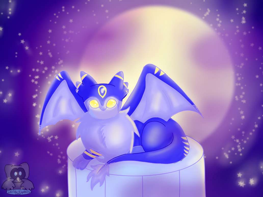 Mika - Companion in the Moonlight by NickTheNightOwl
