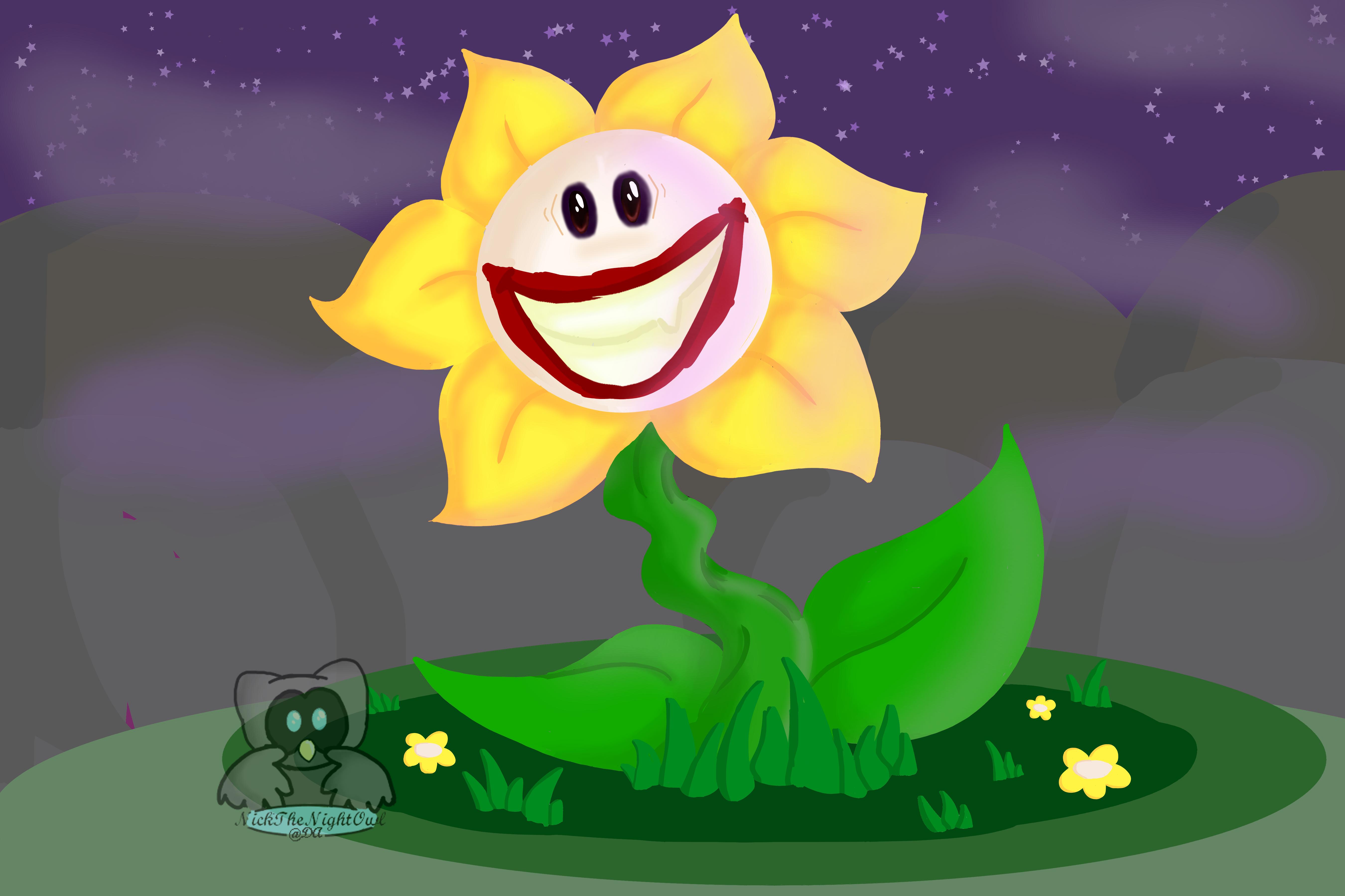 PaintAlong with TsaoShin Flowey the Joker by NickTheNightOwl on DeviantArt